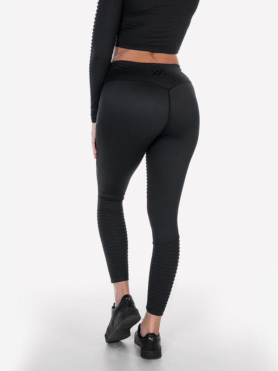 Костюм ribbed black