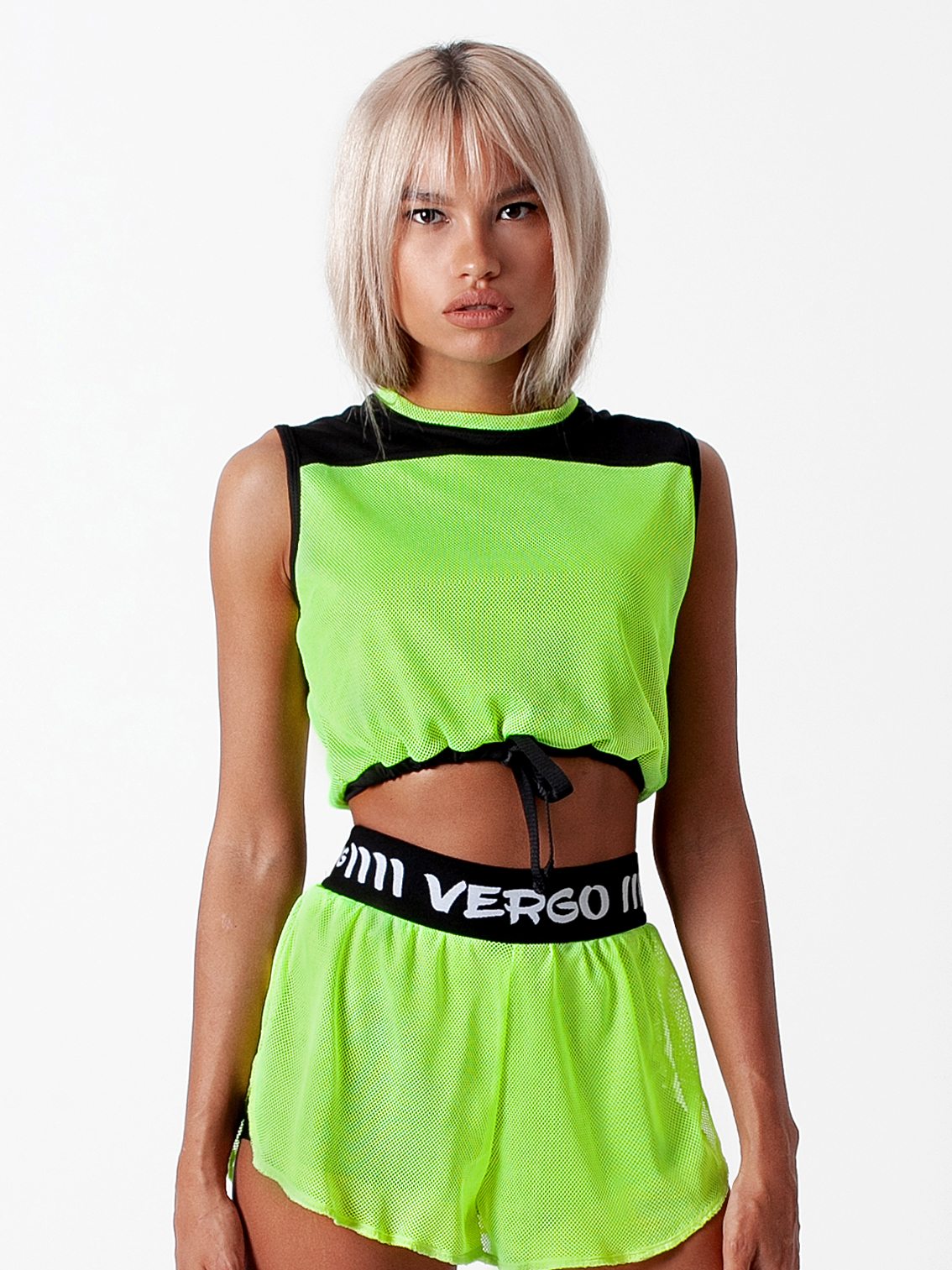 Топ uniform electric lime